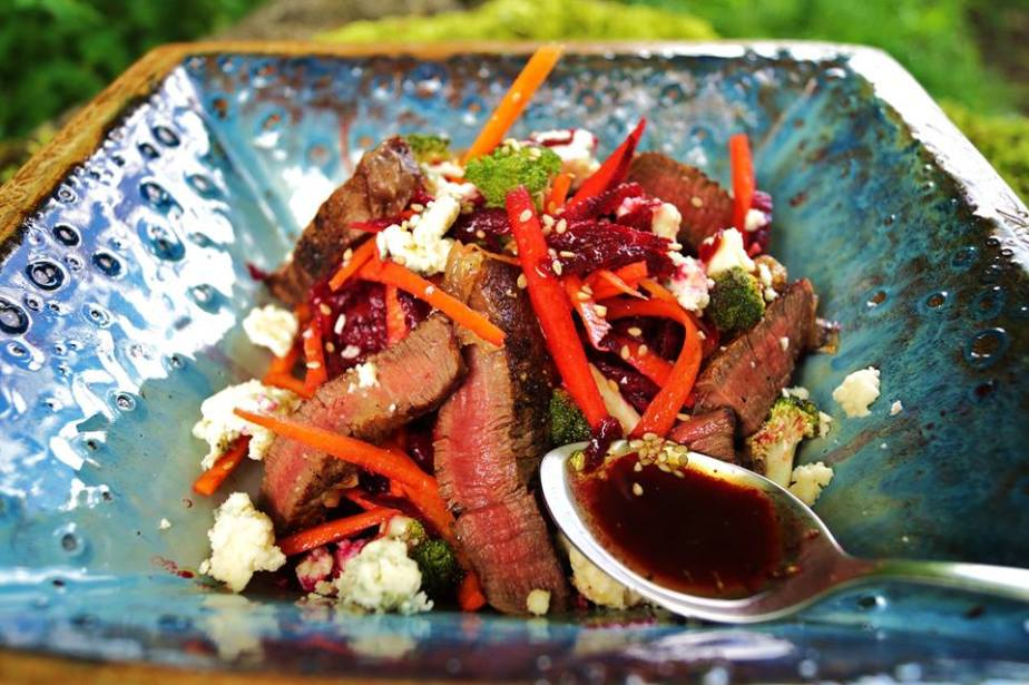 Beef and Young Buck Salad
