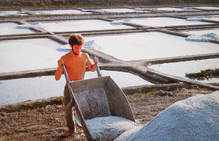 Salt Harvest in Brittany