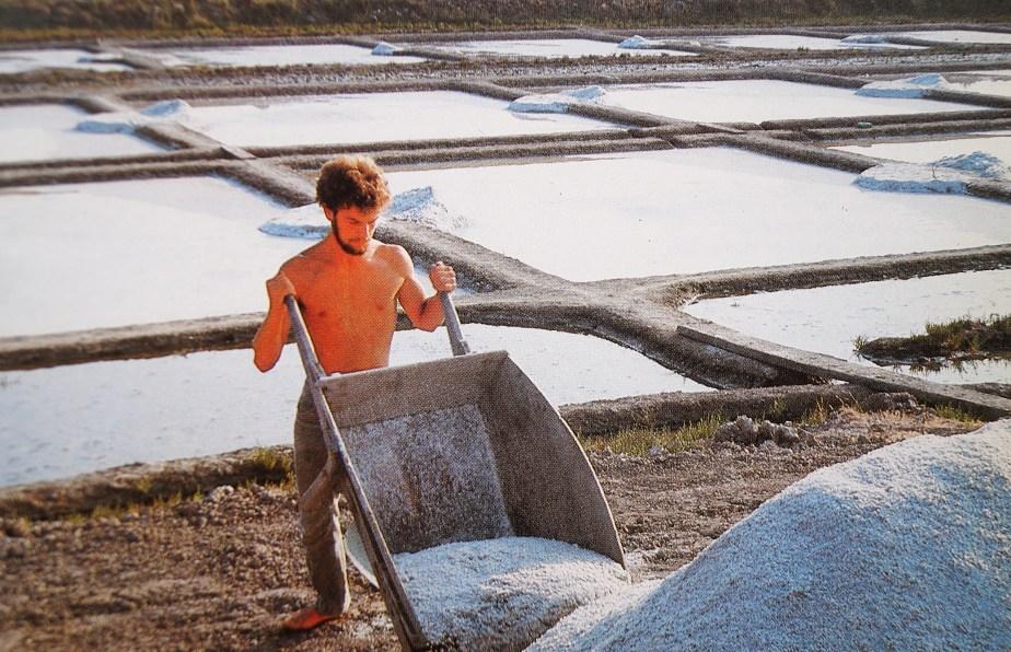 Salt Harvest in Brittany