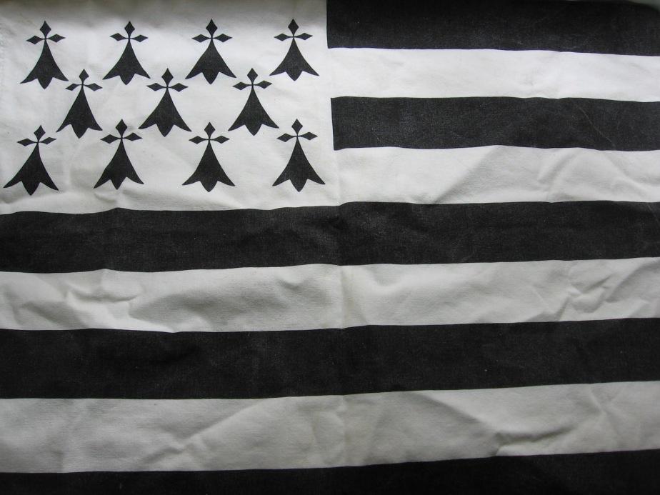 Gwen a Du - Breton Flag