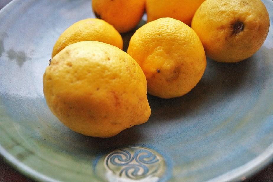 Colm De Ris dish of lemons