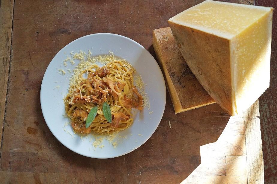 Carbonara with Gabriel cheese