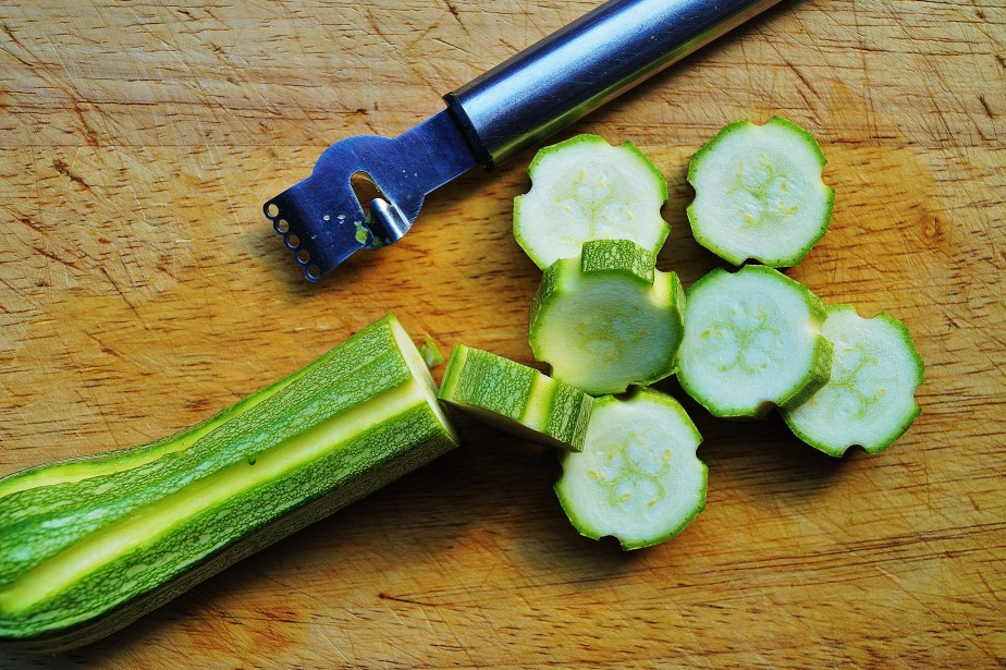 Courgettes trick