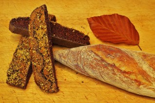 French baguette, Buckwheat and Hemp bread