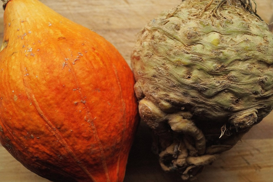 Pumpkin and Celeriac