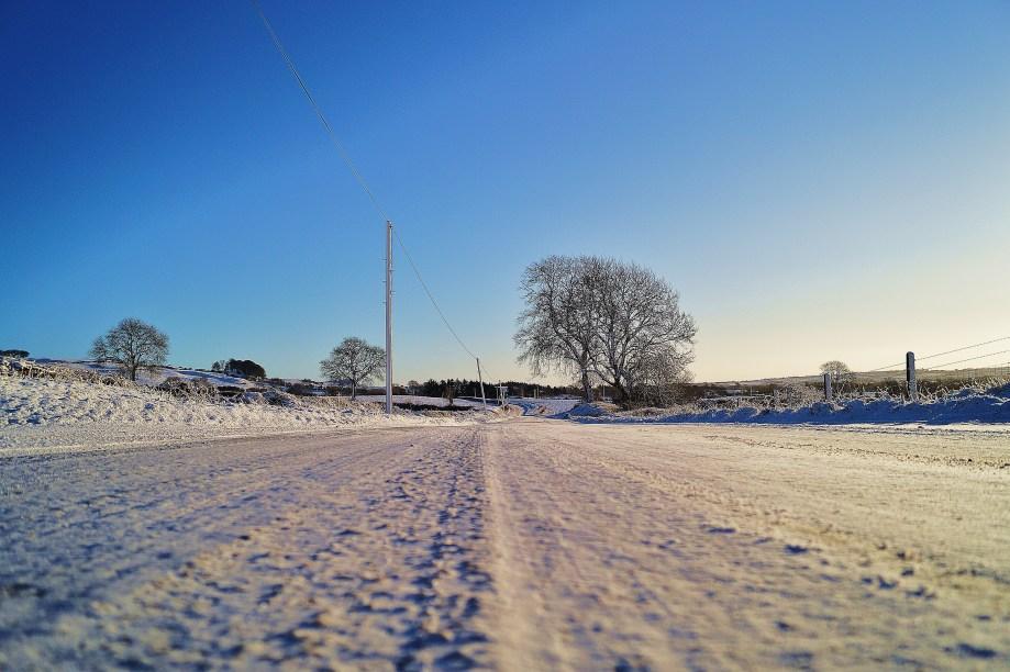 Like walking on snow