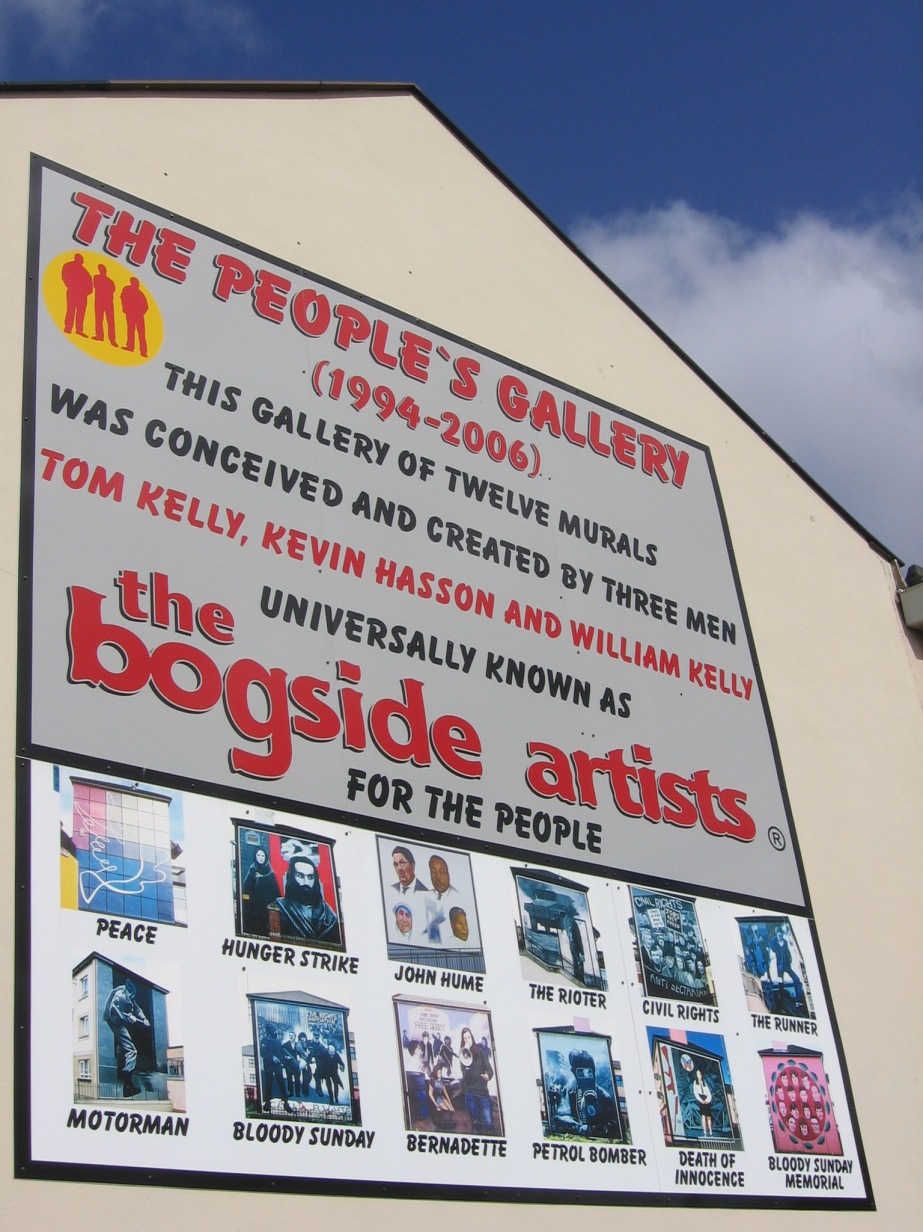 People's Gallery The Bogside Artists