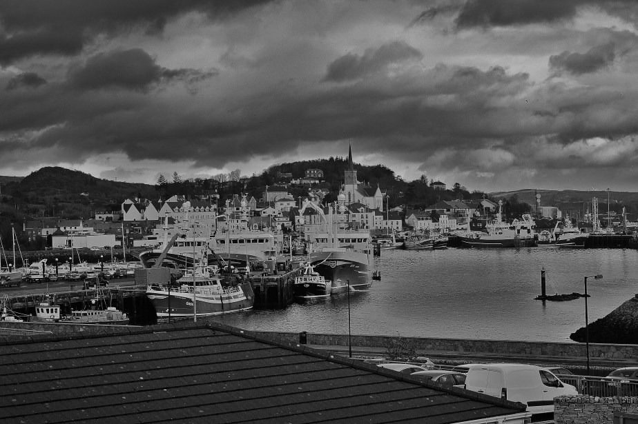 Killybegs, from the college