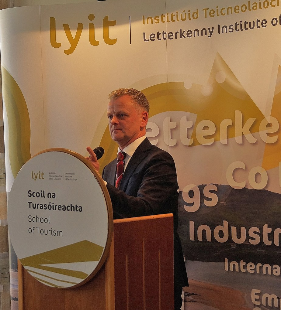 Ciarán ó hAnnracháin, Head of Department of Hospitality & Tourism in Killybegs