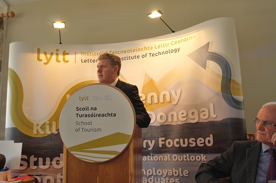 Dr Sean Duffy, Head of the School of Tourism