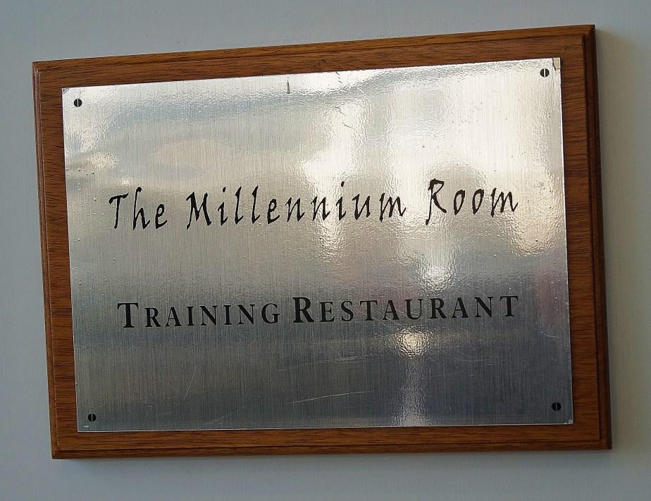 The Millenium Room - Training restaurant