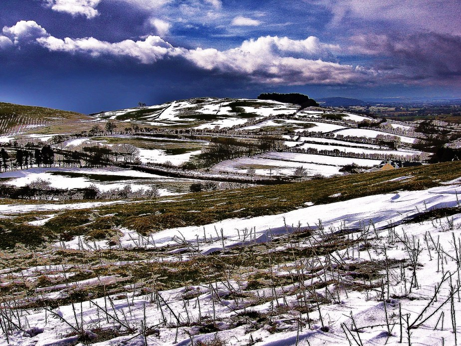 Loughcrew Snow